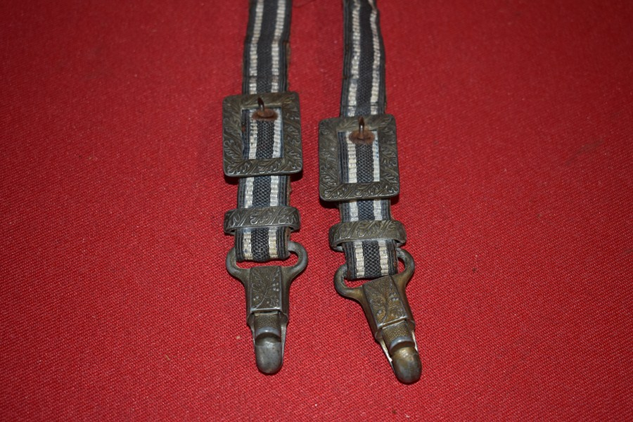 WW2 GERMAN LUFTWAFFE DAGGER HANGERS-SOLD