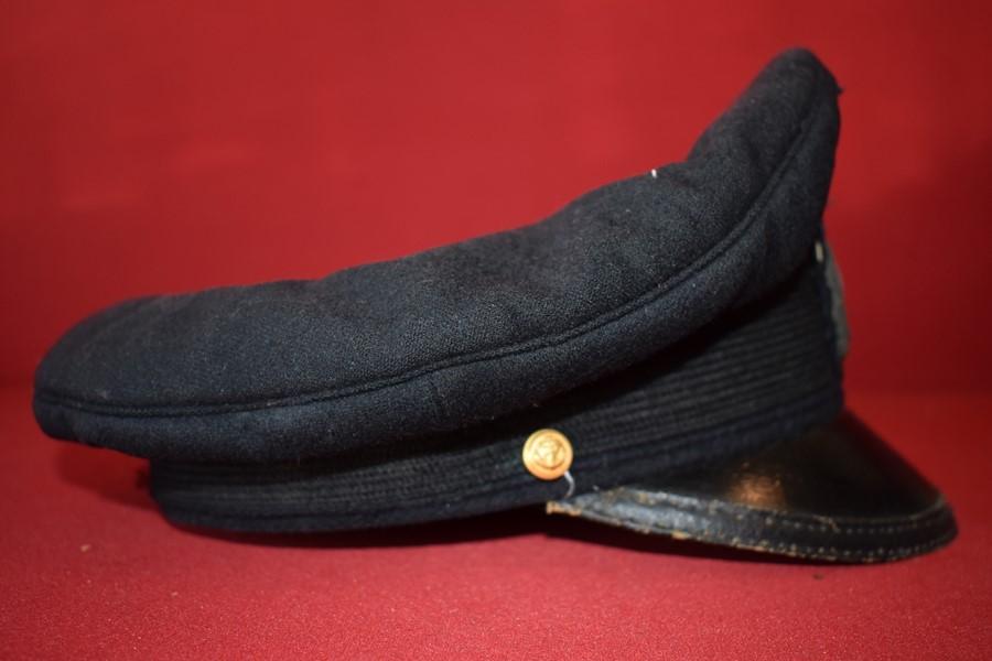 WW2 GERMAN KRIEGSMARINE (NAVY) PEAK HAT-SOLD