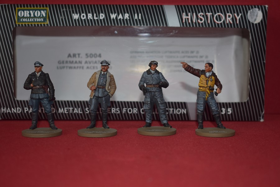 ORYON COLLECTION MILITARY FIGURES ART 5004 LUFTWAFFE ACES-SOLD