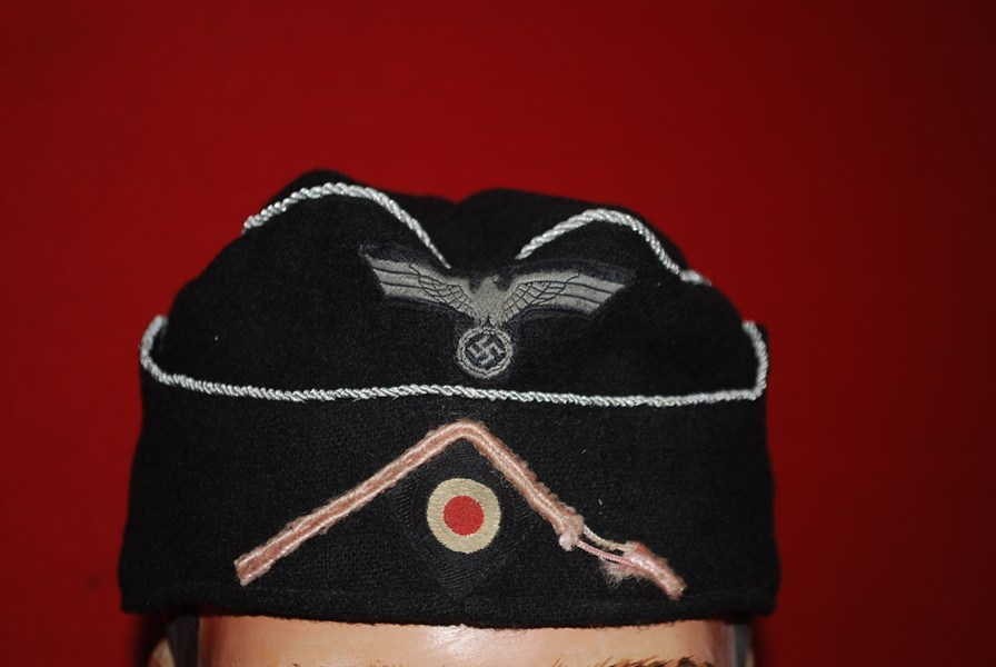 WW2 GERMAN M38 PANZER OFFICERS SIDE CAP