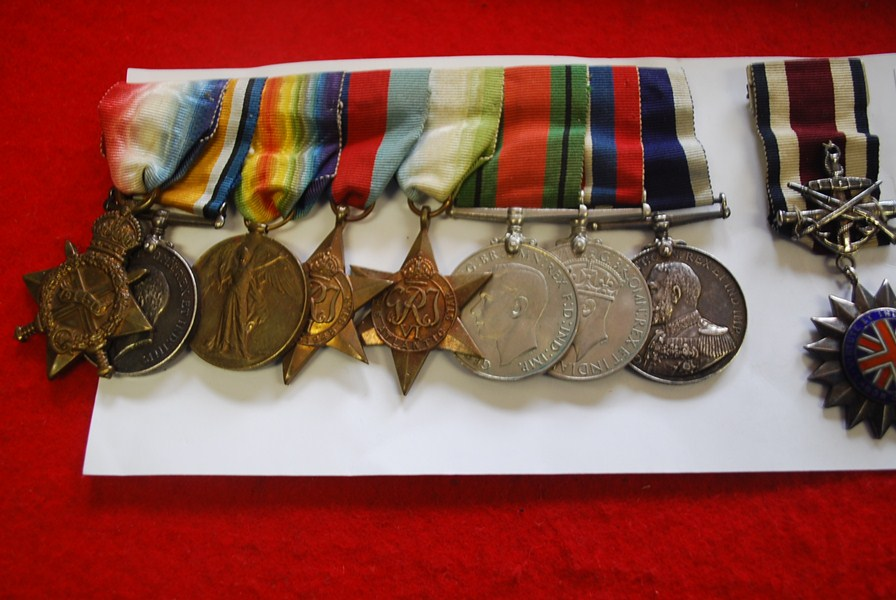 BRITISH WW1&2 9 MEDAL ROYAL NAVY GROUP -SOLD