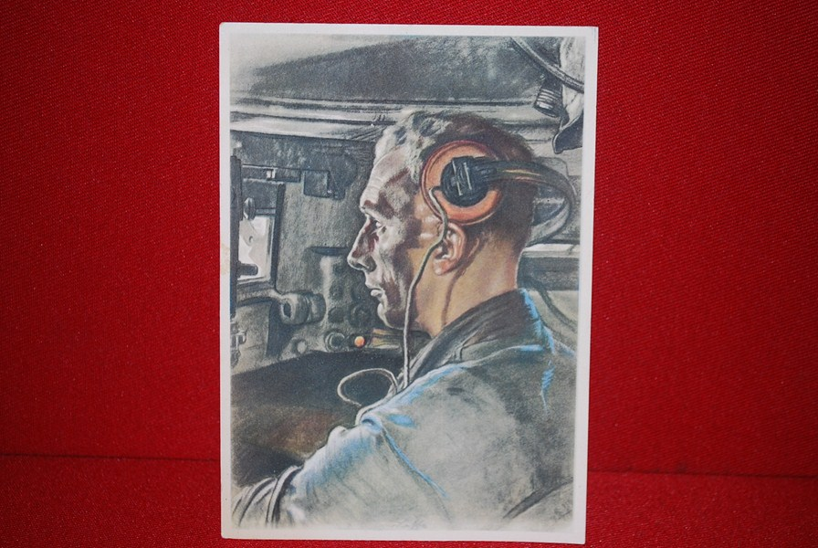 WW2 GERMAN WILLRICH POSTCARD