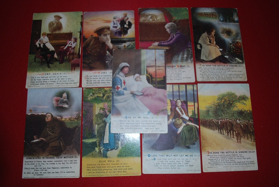 WW1 BRITISH SWEETHEART POSTCARDS-SOLD