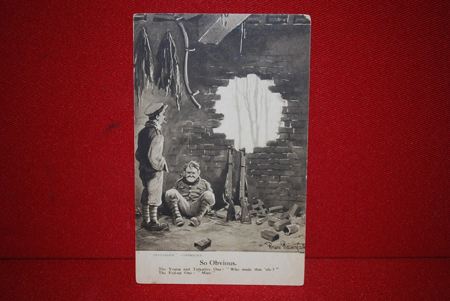 WW1 OLD BILL POSTCARD a