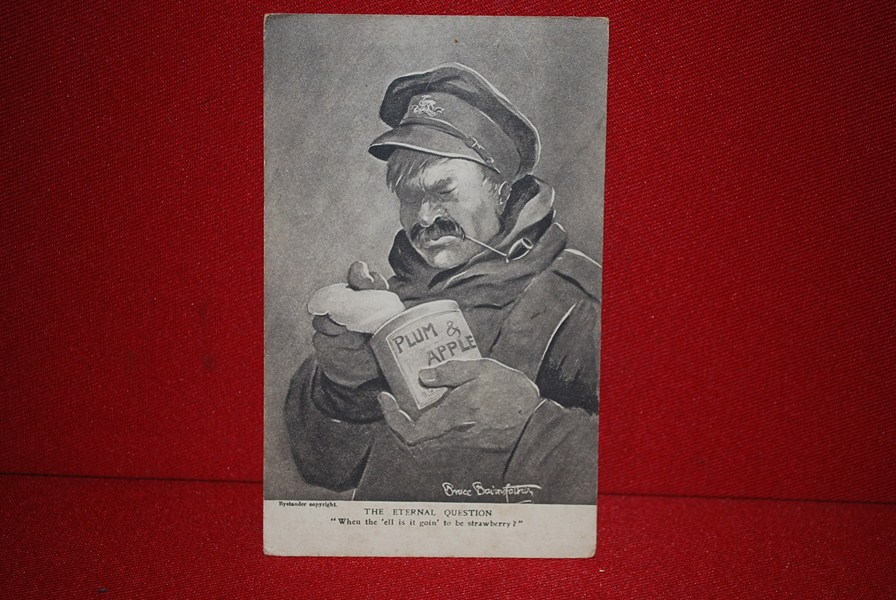 WW1 OLD BILL POSTCARD. c