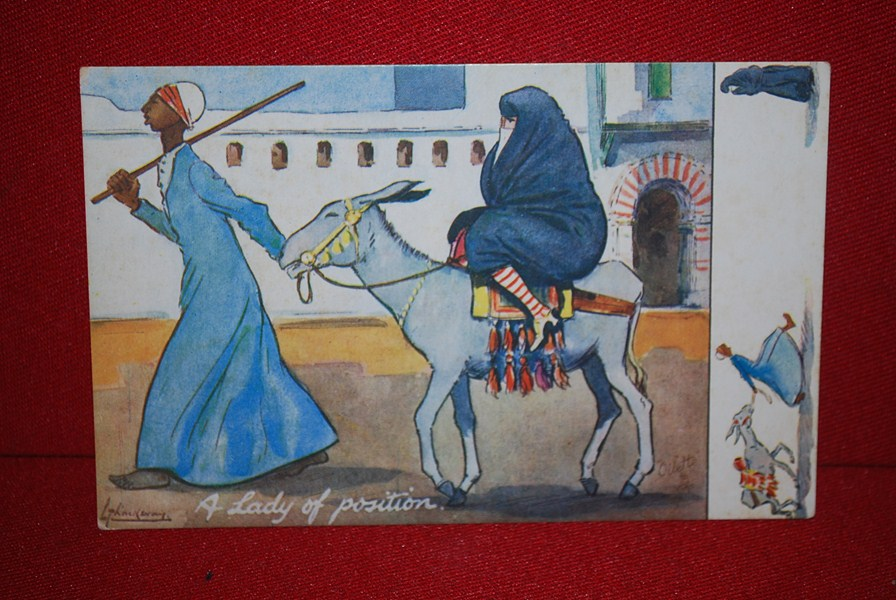 WW1 EGYPTIAN POSTCARD c
