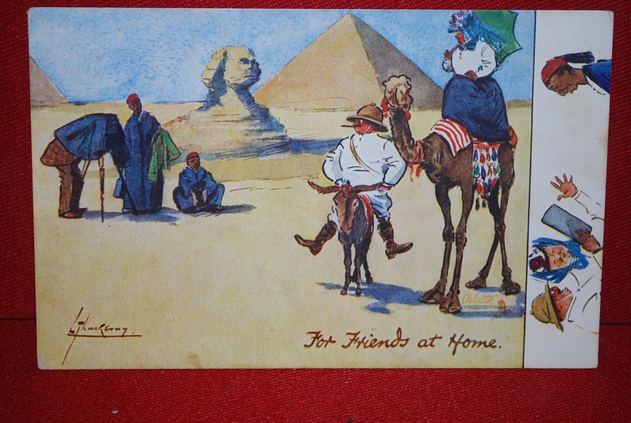 WW1 EGYPTIAN POSTCARD f