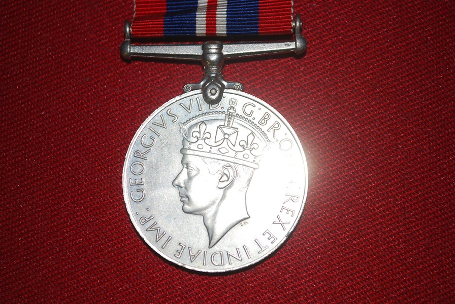 WW2 BRITISH WAR MEDAL