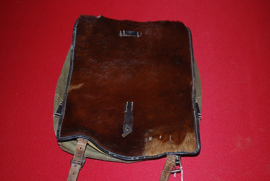 WW2 GERMAN PONY FUR BACK PACK