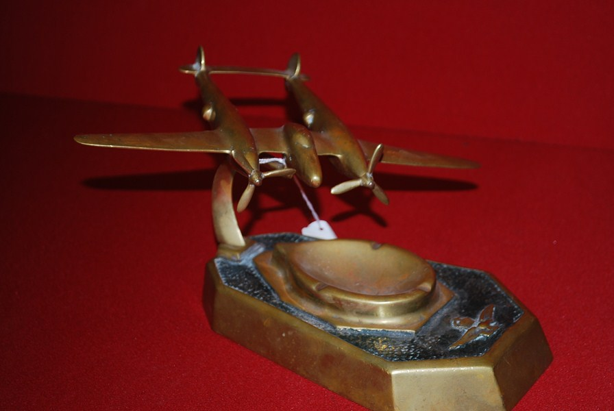 WW2 RAAF TRENCH ART BOMBER PLANE-SOLD
