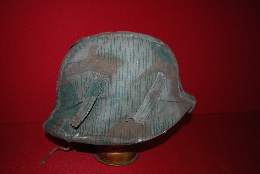 WW2 GERMAN CAM HELMET COVER