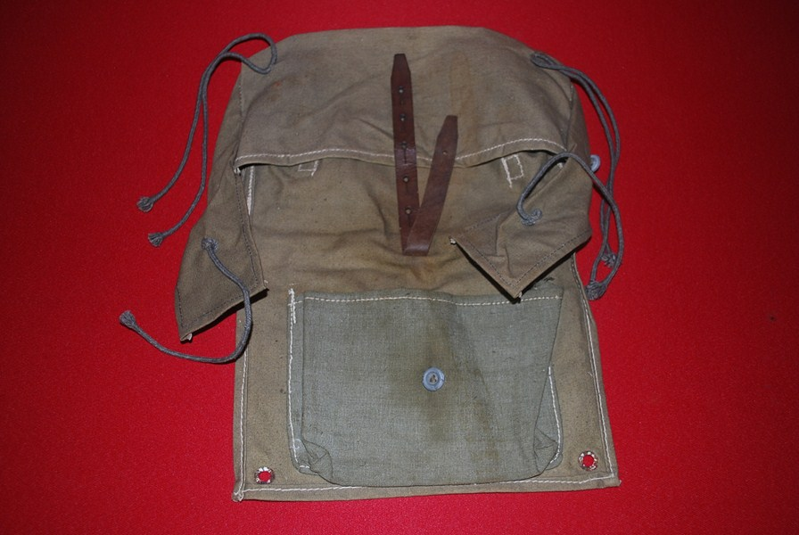 WW2 GERMAN ASSLT A FRAME EQUIPMENT BAG