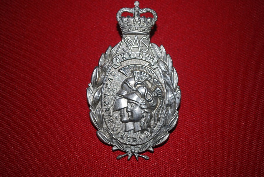 HELMET PLATE/BADGE SAS ARTISTS RIFLES