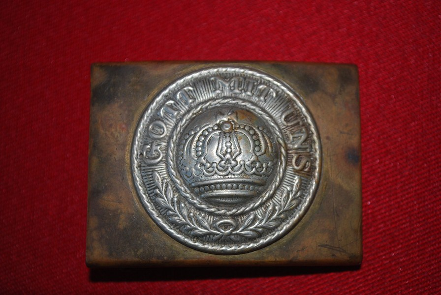 WW1 GERMAN BELT BUCKLE