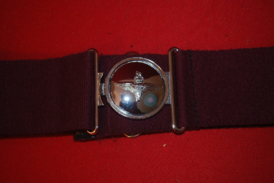 BRITISH PARACHUTE REGIMENT STABLE BELT