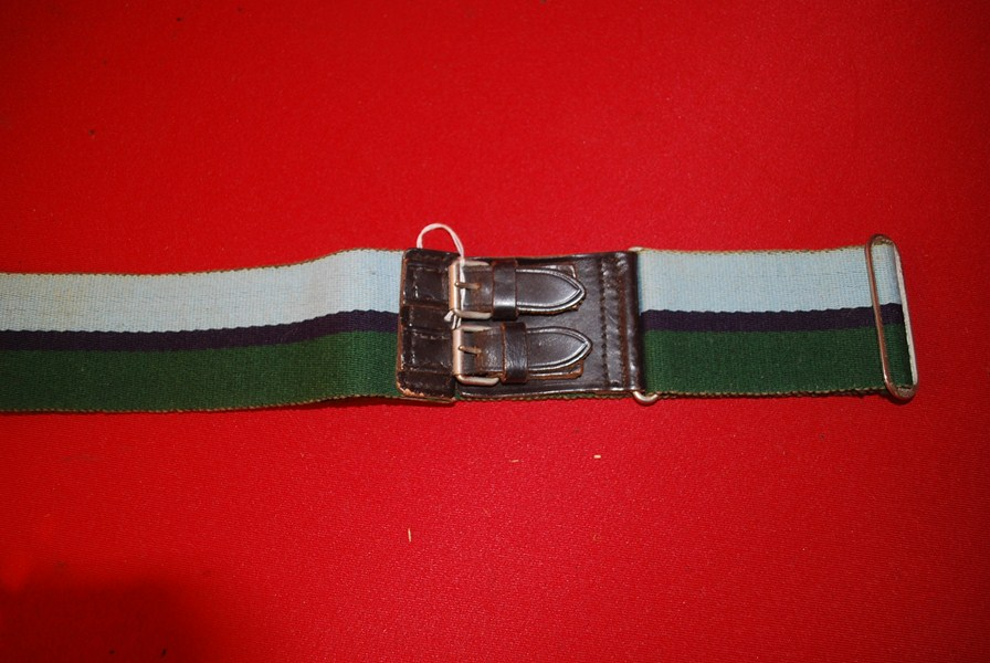 BRITISH ARMY ROYAL SIGNALS REGIMENT STABLE BELT