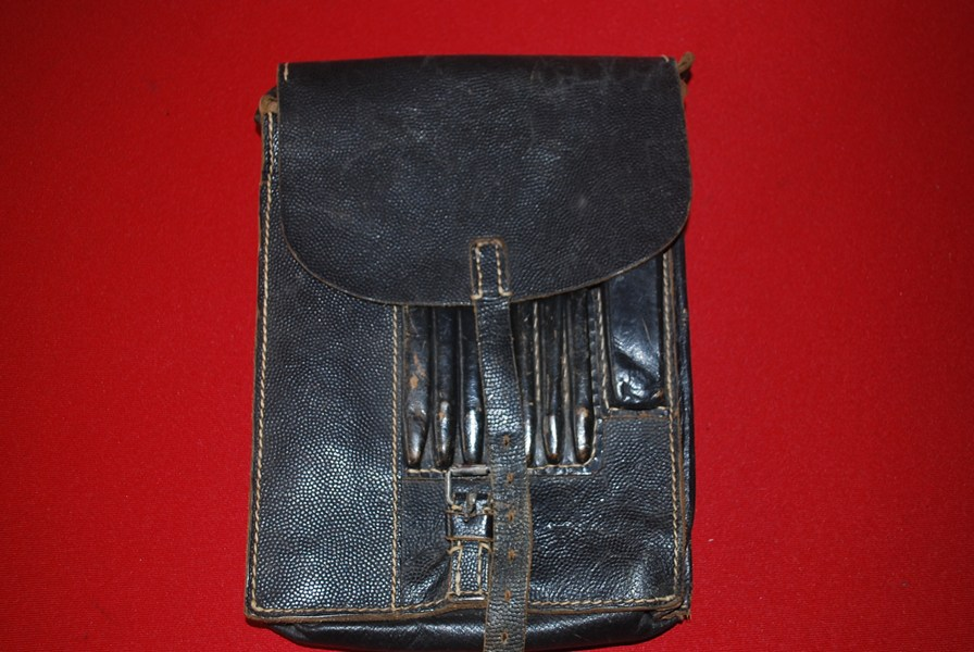 WW2 GERMAN OFFICERS DOCUMENT SATCHEL