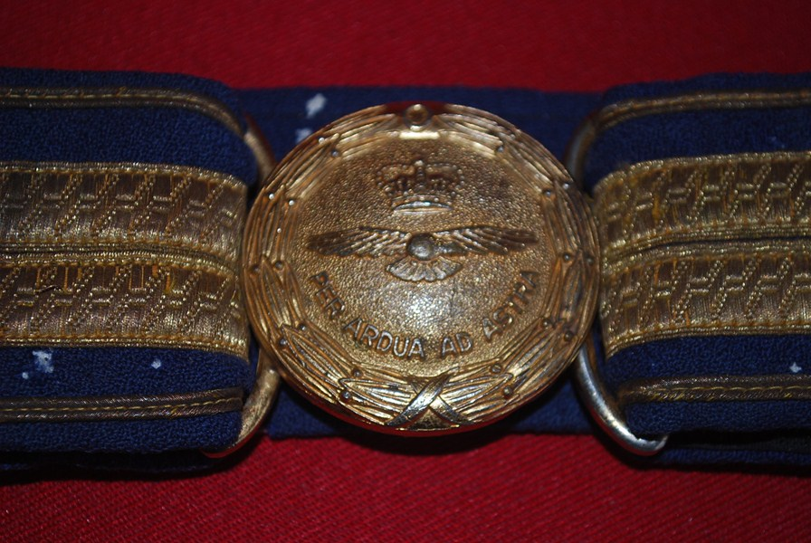 RAF BELT AND BUCKLE