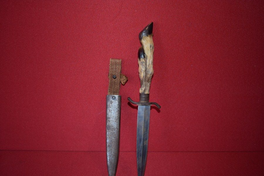 WW1 GERMAN TRENCH KNIFE.f-SOLD