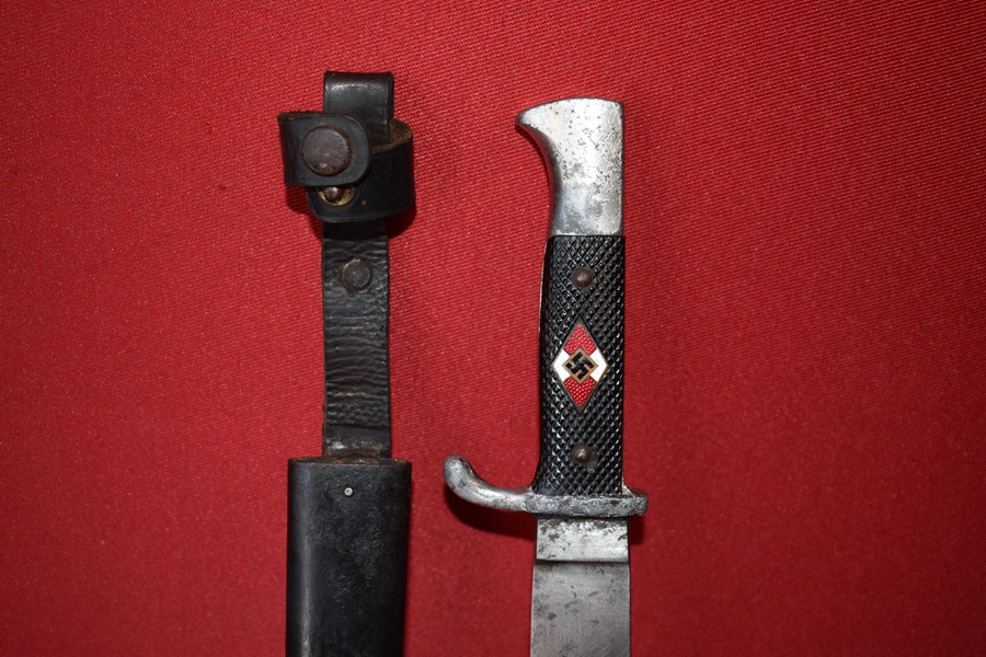 WW2 GERMAN HITLER YOUTH KNIFE-SOLD