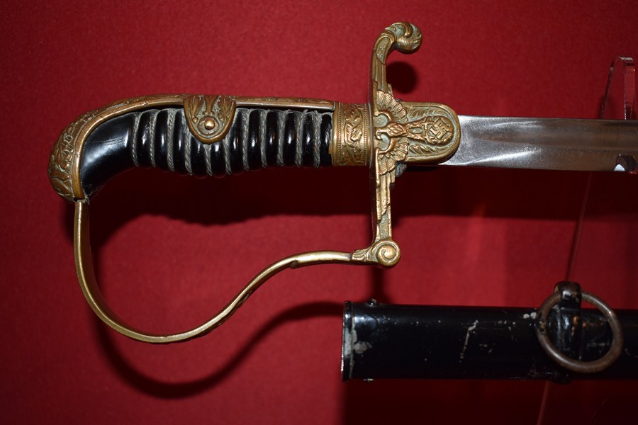WW2 GERMAN ARMY OFFICERS SWORD-SOLD