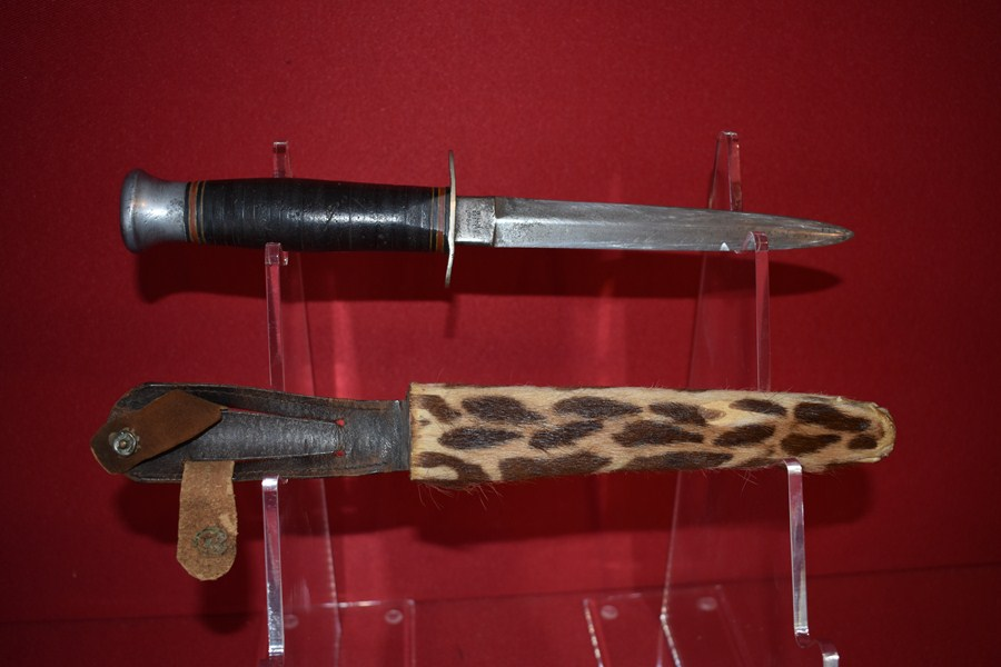 WILLIAM RODGERS FIGHTING KNIFE-SOLD