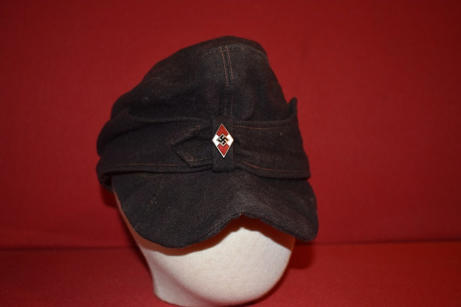 WW2 GERMAN HITLER YOUTH CAP