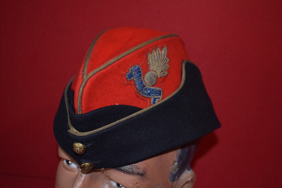 WW2 ARTILLERY OFFICERS GARRISON CAP NO 1-SOLD
