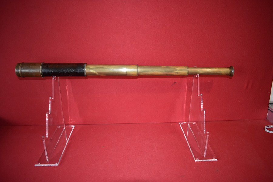 BOER WAR / WW1 PERIOD 3 DRAW TELESCOPE