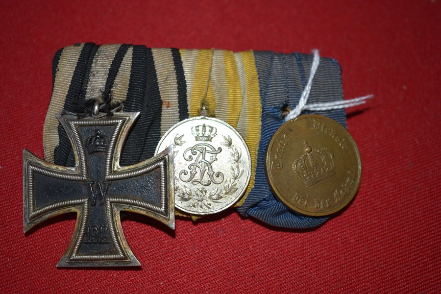 WW1 GERMAN 3 MEDAL GROUP