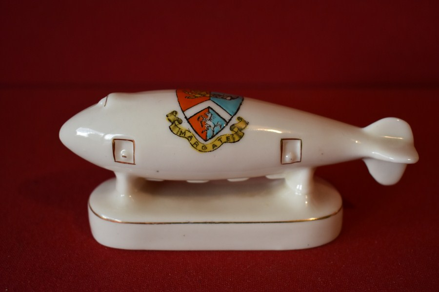 CRESTED WARE ZEPPELIN-SOLD