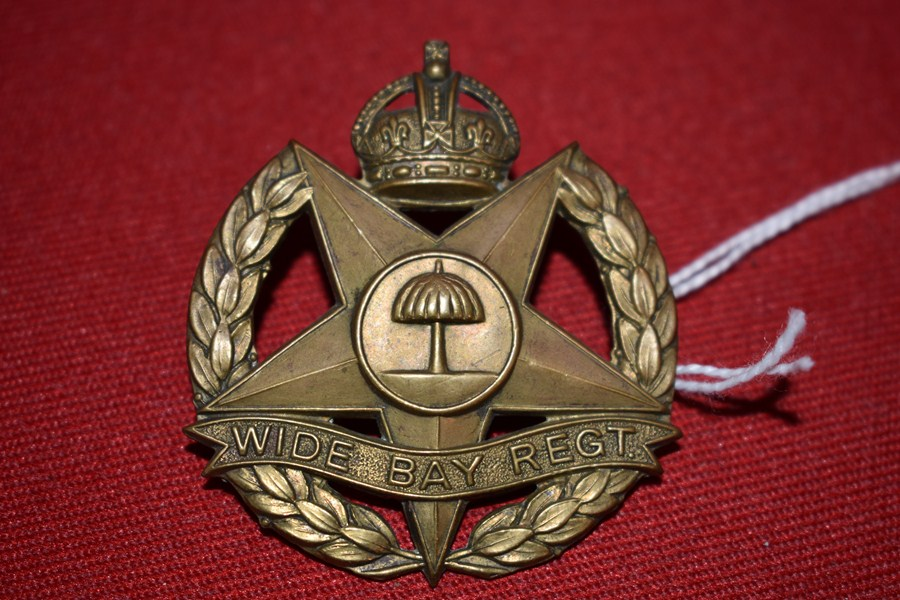 AUSTRALIAN ARMY HAT BADGE. 47 BN THE WIDE BAY REGIMENT. 30-42..
