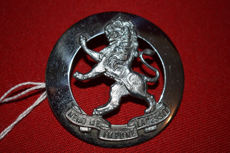 AUSTRALIAN ARMY BADGE 5 BN VICTORIAN SCOTTISH SPORRAN BADGE. 48-60