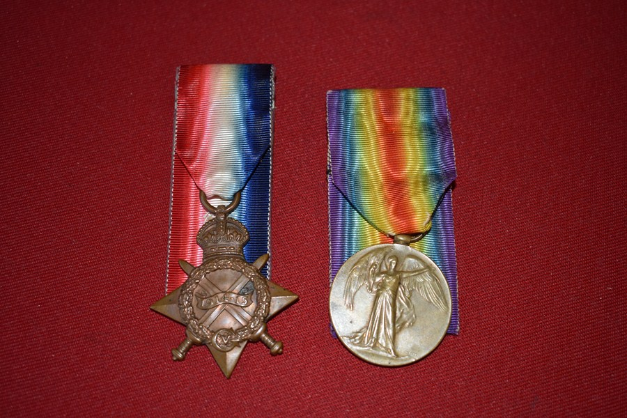 WW1 AUSTRALIAN MEDALS FIRST DAY LANDER KIA GALLIPOLI 9 BN AIF