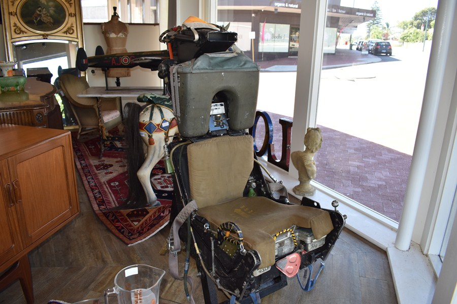 PILOTS EJECTOR SEAT FROM A F1 PHANTOM-SOLD
