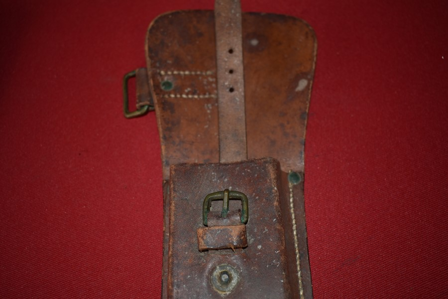 WW1 LEATHER WIRE CUTTERS HOLSTER AUSTRALIAN-SOLD