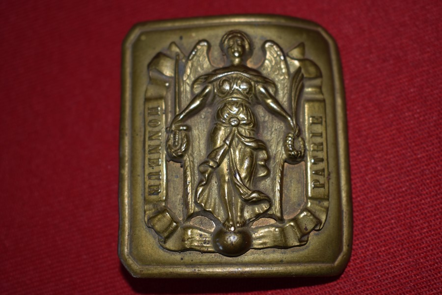 19 CENTURY FRENCH ARMY BELT BUCKLE-SOLD