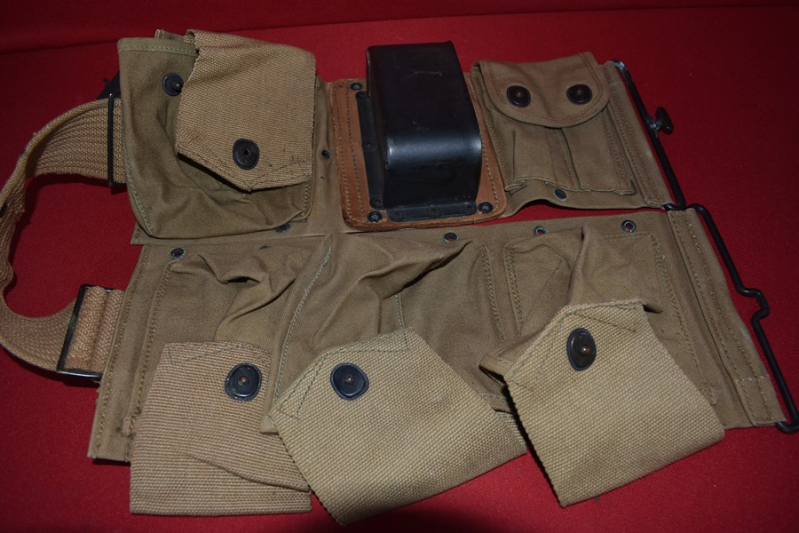 WWI/2 US M1918 BAR GUNNERS AMMO BELT