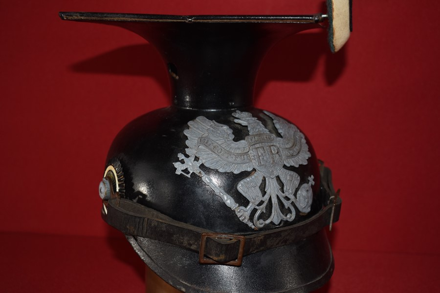 WW1 GERMAN UHLANS (LANCERS/CAVALRY) METAL OR TIN TSCHAPKA-SOLD