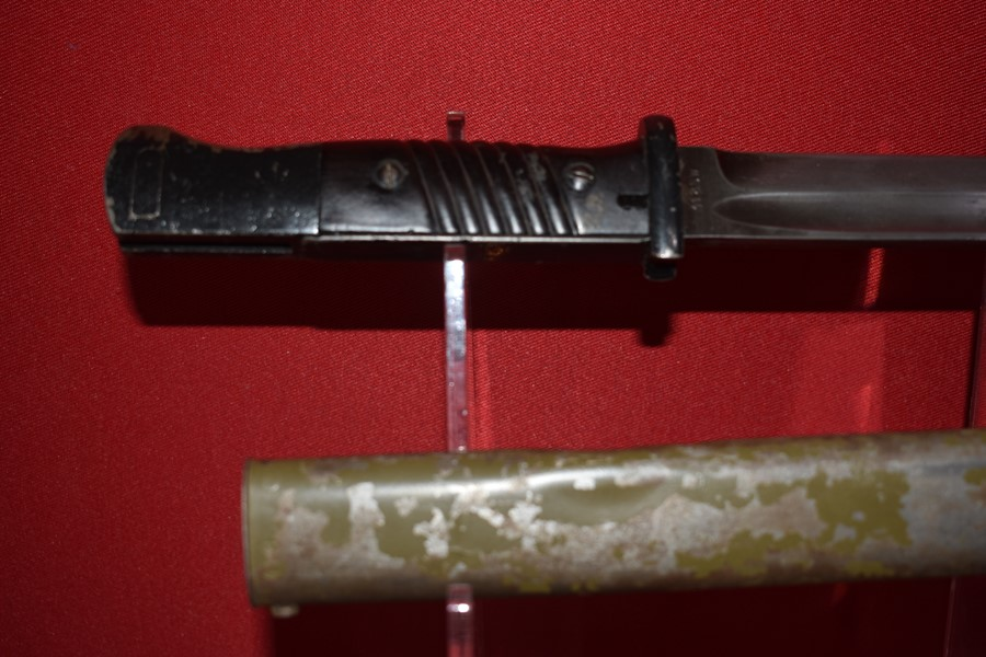 WW2 GERMAN K98 BAYONET WITH MATCHING NUMBERS-SOLD
