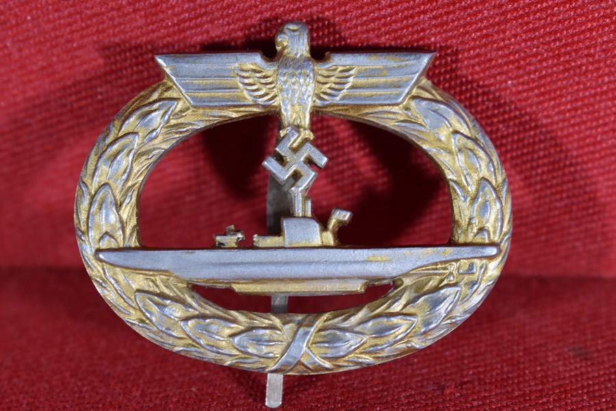 WW2 GERMAN U-BOAT BADGE-SOLD