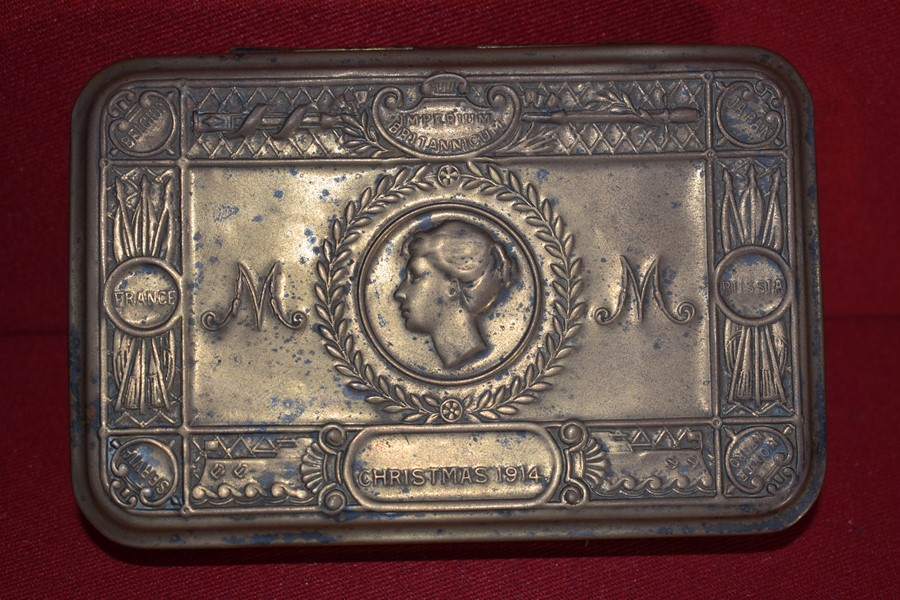 WW1 QUEEN MARY GIFT TIN-SOLD
