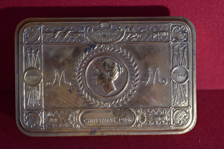WW1 QUEEN MARY GIFT TIN.-SOLD