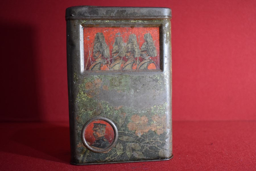 BOER WAR PERIOD BISCUIT TIN.-SOLD