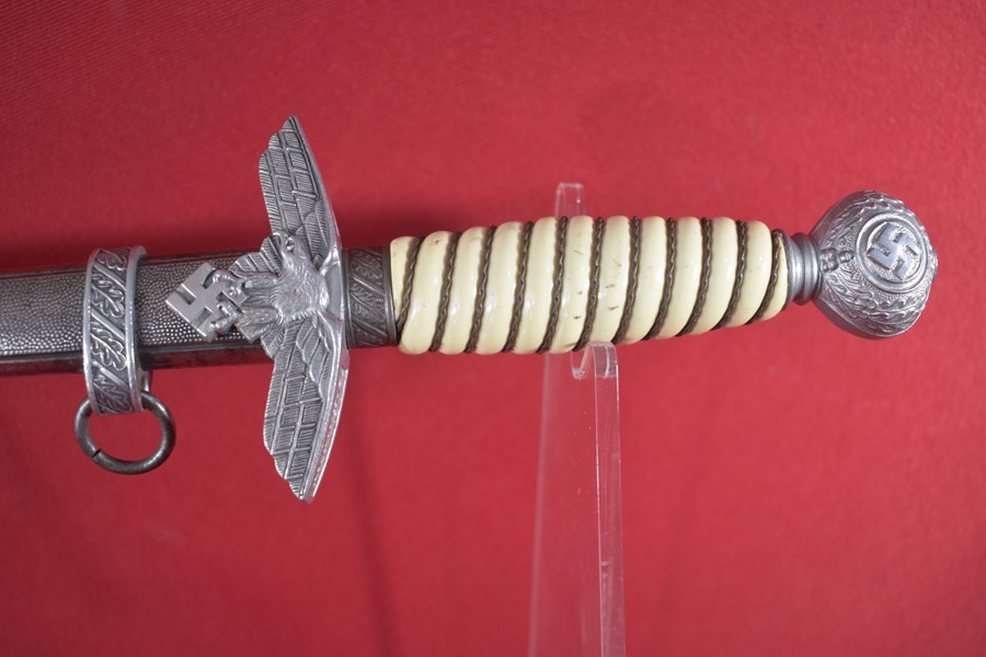 WW2 GERMAN LUFTWAFFE OFFICERS DAGGER