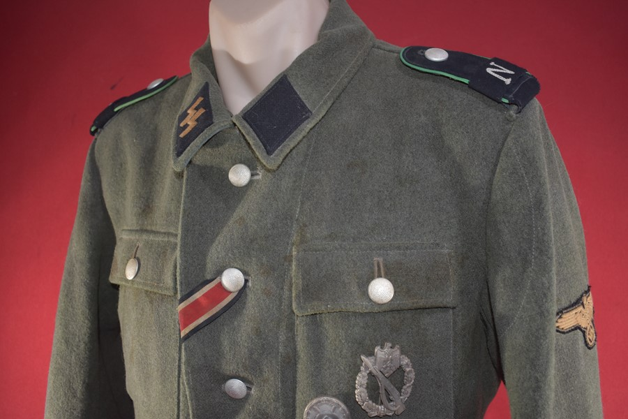 "WW2 GERMAN SS MANS TUNIC, ""NORD"" DIVISION"