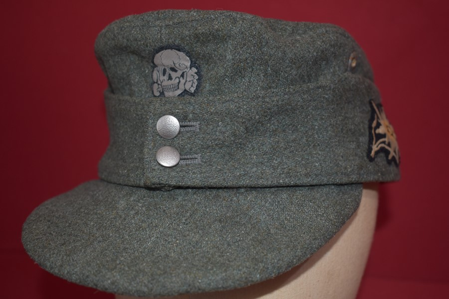 WW2 GERMAN M43 FIELD CAP MOUNTAIN TROOPS