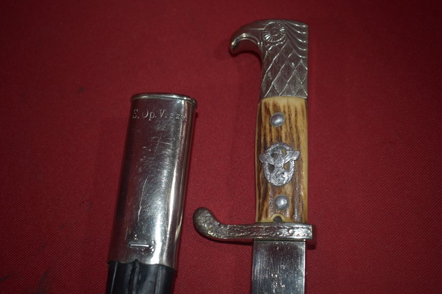 WW2 GERMAN POLICE PARADE BAYONET
