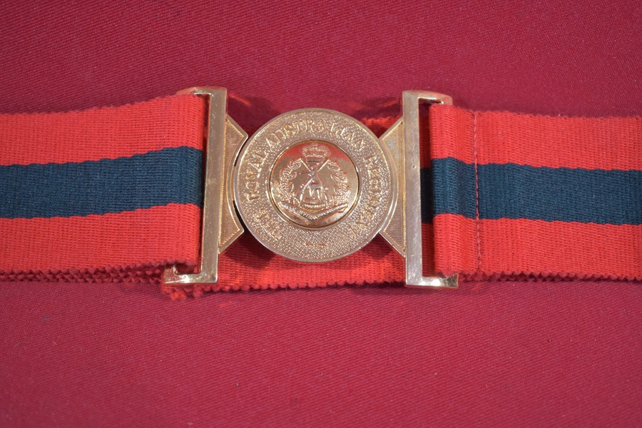 ROYAL AUSTRALIAN REGIMENT (RAR) STABLE BELT