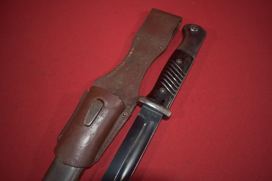 WW2 GERMAN LUFTWAFFE K98 BAYONET AND FROG